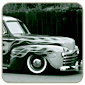 Scott Smith 1946 Flamed Ford Sedan